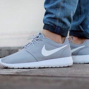 f97870c6ff2 Nike Shoes - Nike Roshe One Wolf Grey White Shoes